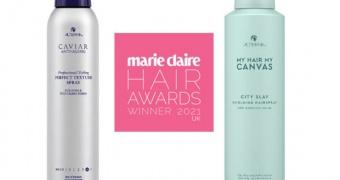 ALTERNA CELEBRATES winning two awards at the prestigious Marie Claire Hair Awards 2021.