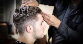 College Haircut For Guys - Free Salon Education